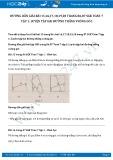 Giải bài tập Luyện tập hai đường thẳng vuông góc SGK Hình học 7 tập 1