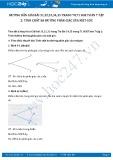 Giải bài tập Tính chất ba đường phân giác của một góc SGK Hình học 7 tập 2