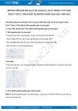 Giải bài tập Tính chất ba đường phân giác của tam giác SGK Hình học 7 tập 2