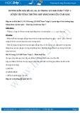 Giải bài tập Luyện tập về ba trường hợp bằng nhau của tam giác SGK Hình học 7 tập 1