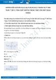 Giải bài tập Tính chất đường trung trực của một đoạn thẳng SGK Hình học 7 tập 2