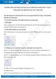 Giải bài tập Tính chất ba đường cao của tam giác SGK Hình học 7 tập 2