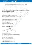 Giải bài tập Ôn tập chương 3 Quan hệ các yếu tố của tam giác SGK Hình 7 tập 2