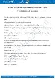 Giải bài tập Từ vuông góc đến song song SGK Hình học 7 tập 1