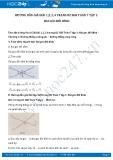 Giải bài tập Hai góc đối đỉnh SGK Hình học 7 tập 1