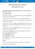 Giải bài tập Lipit SGK Hóa học 12
