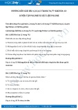 Giải bài tập Luyện tập Polime và vật liệu Polime SGK Hóa học 12