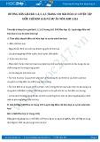 Giải bài tập Luyện tập điều chế kim loại và sự ăn mòn kim loại SGK Hóa học 12