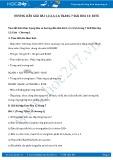 Giải bài tập Este SGK Hóa học 12