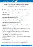 Giải bài tập Saccarozơ, tinh bột và xenlulozơ SGK Hóa học 12