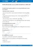 Giải bài tập Amino axit SGK Hóa học 12