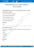 Giải bài tập Peptit và Protein SGK Hóa học 12