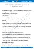 Giải bài tập Đại cương về Polime SGK Hóa học 12