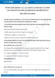 Giải bài tập Luyện tập tính chất của kim loại kiềm, kim loại kiềm thổ và hợp chất của chúng SGK Hóa học 12