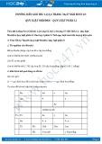 Giải bài tập Quy luật Menđen – Quy luật phân li SGK Sinh học 12