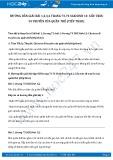 Giải bài tập Di truyền của quần thể (tiếp theo) SGK Sinh học 12