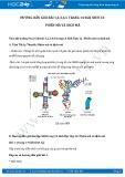 Giải bài tập Phiên mã và dịch mã SGK Sinh học 12