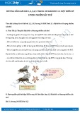 Giải bài tập Đột biến số lượng nhiễm sắc thể SGK Sinh học 12