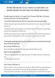 Giải bài tập Di truyền liên kết với giới tính và di truyền ngoài nhân SGK Sinh học 12