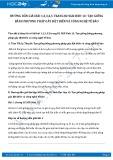 Giải bài tập Tạo giống bằng phương pháp gây đột biến và công nghệ tế bào SGK Sinh học 12