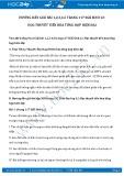 Giải bài tập Học thuyết tiến hóa tổng hợp hiện đại SGK Sinh học 12