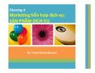Bài giảng Marketing dịch vụ: Chương 4 – Nguyễn Thị Trang Nhung
