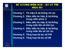 Bài giảng Xử lý tín hiệu số - Chương 1: Tín hiệu và hệ thống rời rạc