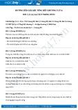 Giải bài tập Tổng kết chương 2 Nhiệt học SGK Vật lý 6