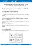 Giải bài tập Sự bay hơi và sự ngưng tụ SGK Vật lý 6