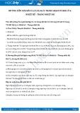 Giải bài tập Nhiệt kế - Thang nhiệt độ SGK Lý 6