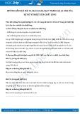 Giải bài tập Sự nở vì nhiệt của chất lỏng SGK Vật lý 6