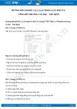 Giải bài tập Tổng kết chương 1 Cơ học - Vận dụng SGK Vật lý 6