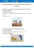 Giải bài tập Đòn bẩy SGK Vật lý 6