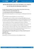 Giải bài tập Đo thể tích vật rắn không thấm nước SGK Vật lý 6