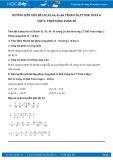 Giải bài tập Phép cộng phân số SGK Đại số 6 tập 2