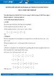 Giải bài tập Phép trừ phân số SGK Đại số 6 tập 2
