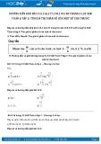 Giải bài tập Tìm giá trị phân số của một số cho trước SGK Đại số 6 tập 2