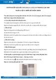 Giải bài tập Biểu đồ phần trăm SGK Đại số 6 tập 2