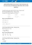 Giải bài tập Ôn tập chương 3 Phân số SGK Đại số 6 tập 2