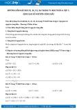 Giải bài tập Cộng hai số nguyên cùng dấu SGK Đại số 6 tập 1
