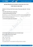Giải bài tập Phép cộng và phép nhân SGK Đại số 6 tập 1