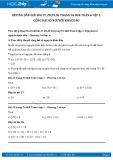 Giải bài tập Cộng hai số nguyên khác dấu SGK Đại số 6 tập 1