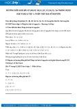 Giải bài tập Phép trừ hai số nguyên SGK Đại số 6 tập 1