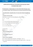 Giải bài tập Lũy thừa với số mũ tự nhiên, nhân hai lũy thừa cùng cơ số SGK Đại số 6 tập 1