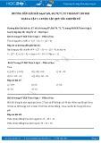 Giải bài tập Luyện tập quy tắc chuyển vế SGK Đại số 6 tập 1