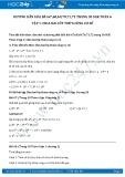 Giải bài tập Chia hai lũy thừa cùng cơ số SGK Đại số 6 tập 1