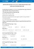 Giải bài tập Nhân hai số nguyên khác dấu SGK Đại số 6 tập 1