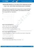 Giải bài tập Một số bài toán về đại lượng tỉ lệ nghịch SGK Đại số 7 tập 1
