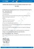 Giải bài tập Đa thức SGK Đại số 7 tập 2