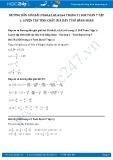 Giải bài tập Luyện tập tính chất của dãy tỉ số bằng nhau SGK Đại số 7 tập 1